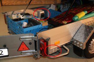 Elektriciteit in vouwwagen