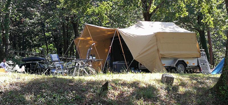 Aart Kok Livingstone River Lodge Tent & Trailer vouwwagen