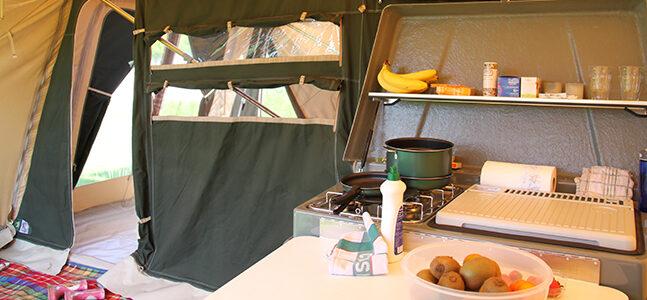 Zambezi tenttrailer keuken kopen