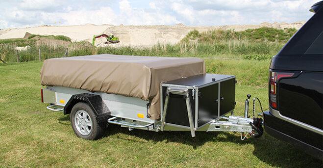 Kavango en Kariba vouwwagen Tent en Trailer