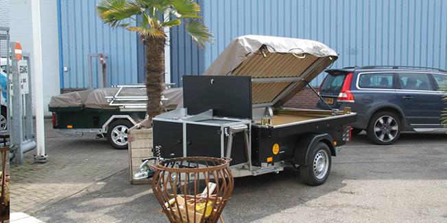 Aart Kok Livingstone River Lodge vouwwagen kopen