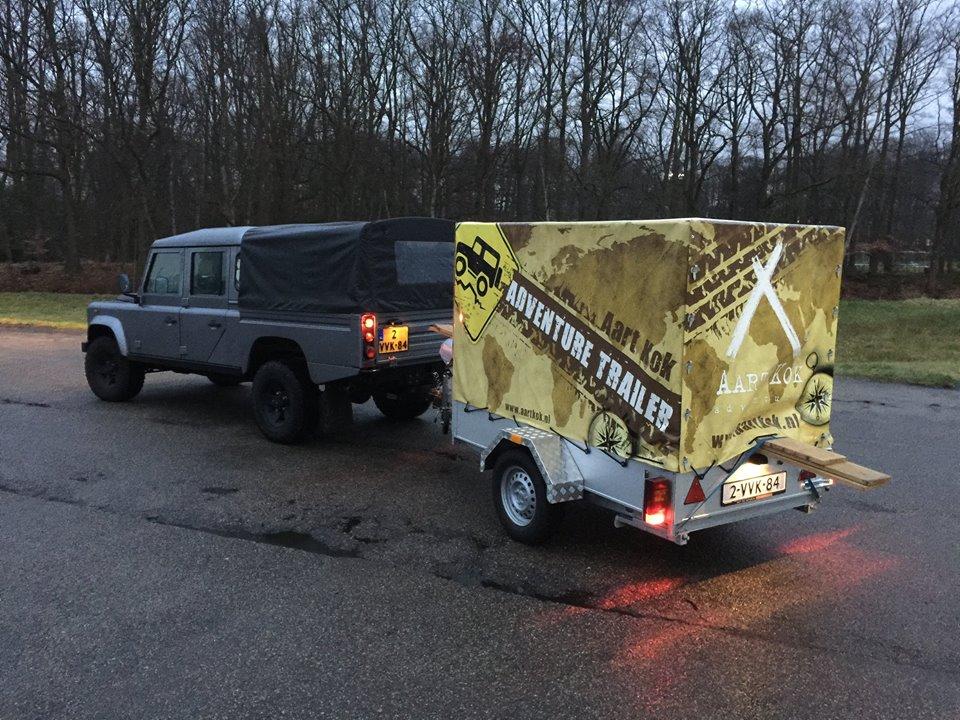 Huif trailer Aart Kok kopen