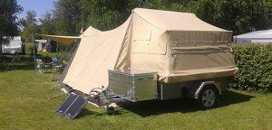 Aart Kok Zambezi River Camp tenttrailer kopen