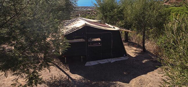 Aart Kok Zambezi River Lodge hardtop Tenttrailer kopen