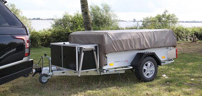 De Aart Kok aluminium disselkeuken is van alle luxe voorzien.