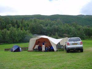 Aart Kok Zambezi tenttrailer op camping