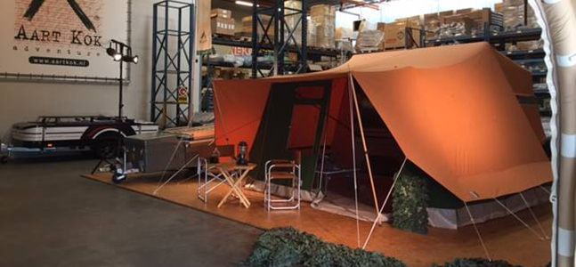 Aart Kok Tent & Trailer XL Kariba vouwwagen kopen