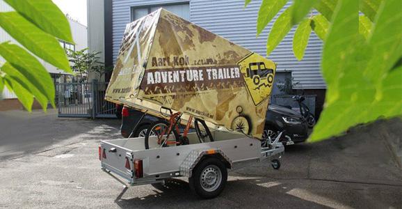 Transporter van Aart Kok Adventure met Huif kopen