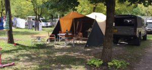 Aart Kok Zambezi River Lodge hardtop tenttrailer