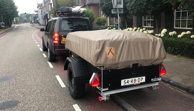 Aart Kok Kariba Tent & Trailer off-road