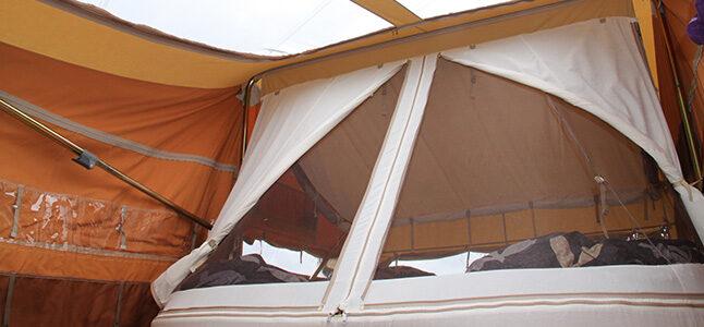 Aart Kok River Lodge Super Size bed en panoramadak Aart Kok vouwwagen kopen
