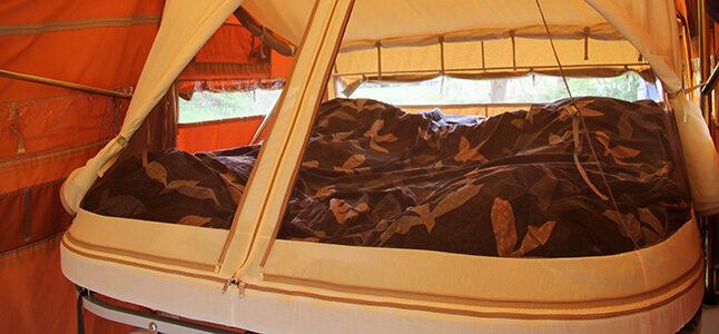 Aart Kok Vouwwagen met extra groot bed 200x 220 cm kopen