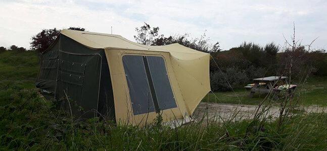 Aart Kok Aanbieding Livingstone River Lodge Game Drive vouwwagen kopen