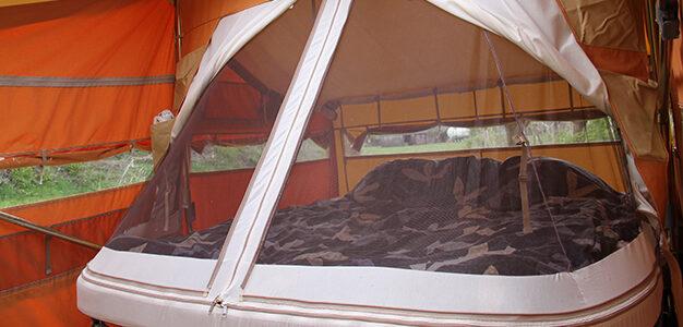 Aart Kok vouwwagen kopen Super Size bed van 200 x 220 cm