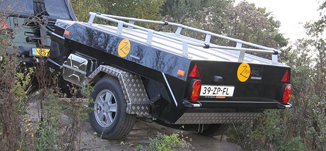 Zambezi Off Road tenttrailer zwart kopen