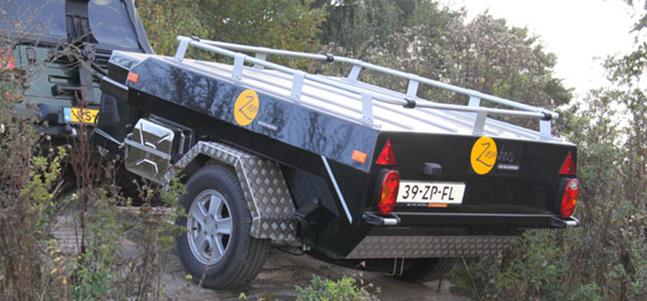 Aart Kok Zambezi tenttrailer off road kopen
