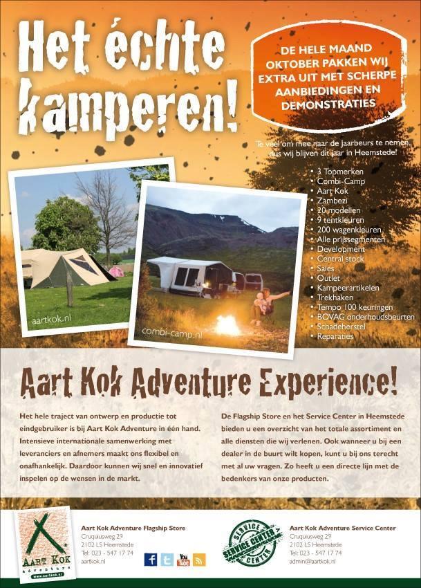 Aart Kok Experience vouwwagens kopen