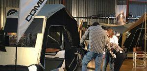 Aart Kok Adventure vouwwagens op TV