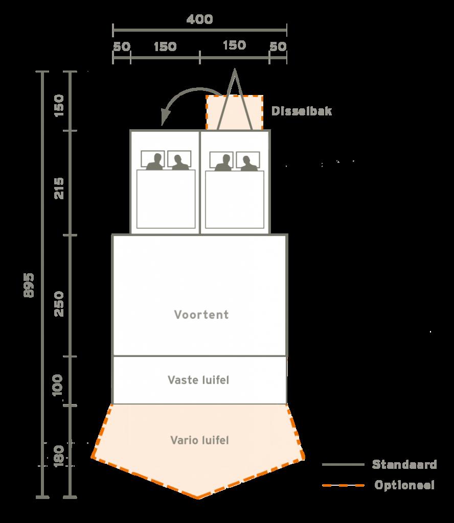 Aart-Kok-Kariba-TT-vouwwagen-plattegrond
