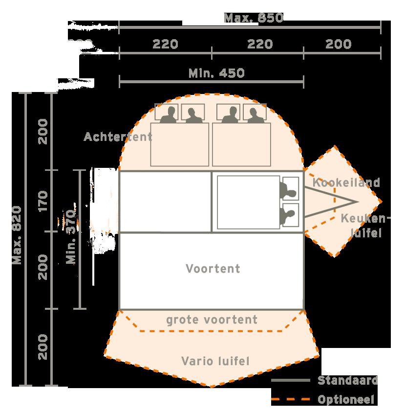 Aart-kok-Zambezi-Original-vouwwagen-plattegrond
