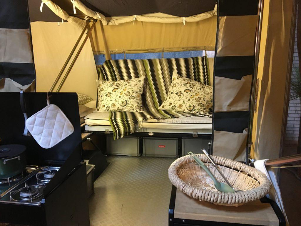 Daarom een loungebank in je vouwwagen