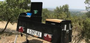 Aart Kok Kavango Game Drive keuken in Frankrijk