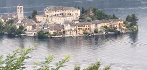 Italie eiland in meer