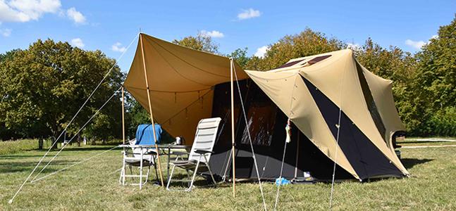 Aart Kok Tuareg tent & trailer