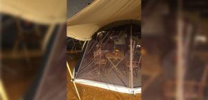 Aart Kok River Lodge vouwwagen met horgaas voorwand