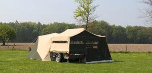 Aart Kok River Lodge vouwwagen