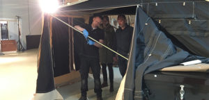 Aart Kok Zambezi River Lodge tenttrailer in Off-Road uitvoering zwart aflevering Heemstede
