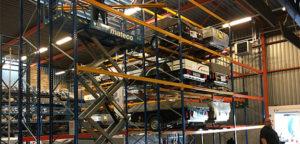 Aart Kok Adventure vouwwagen distributiecentrum Heemstede