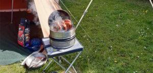 Koken op de camping met een Aart Kok vouwwagen