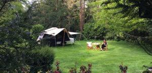 Aart Kok Zambezi tenttrailer op de camping