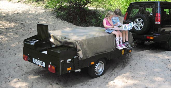 Kavango en Kariba vouwwagen dicht