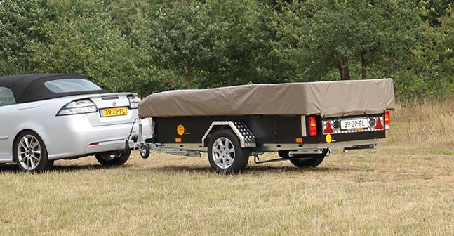 Tuareg Game Drive vouwwagen dicht