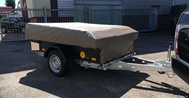 Tuareg Tent en Trailer vouwwagen dicht