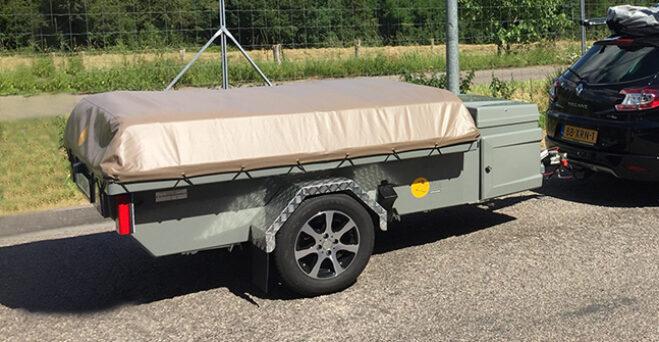 Zambezi River Lodge vouwwagen dicht