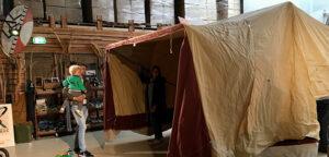 Aflevering van Aart Kok Kariba Tent & Trailer Off-Road vouwwagen
