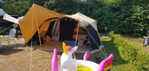 Aart Kok Livingstone River Lodge op camping