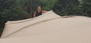 Aart Kok Livingstone River Lodge vouwwagen panoramadak