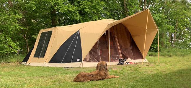 River Lodge boogluifel en varioluifel hond