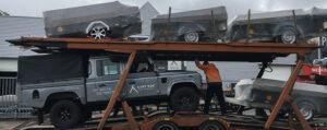 Transport levering vouwwagens bij Aart Kok Adventure Heemstede