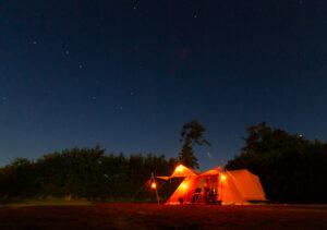 Aart Kok Adventure Kariba vouwwagen onder de sterren