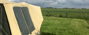Aart Kok Zambezi River Lodge tenttrailer op de camping